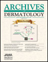 Capa livro Archives Of Dermatology